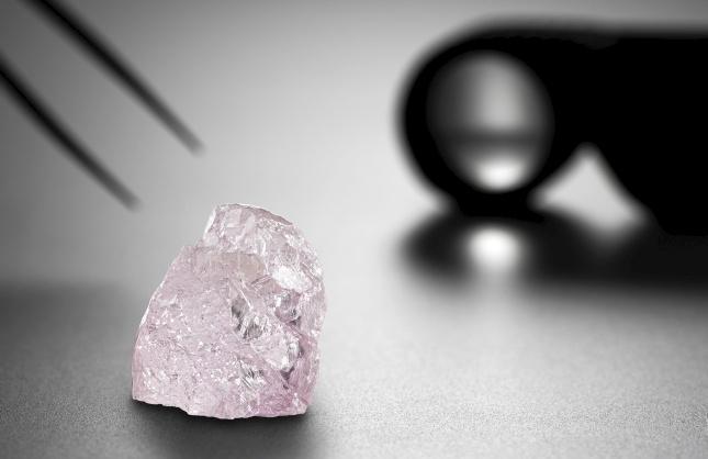 Diamantul Pink Dawn de vânzare