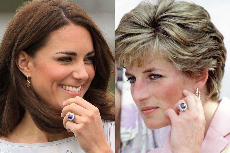 Celebrul inel purtat de Lady Di și Kate Middleton